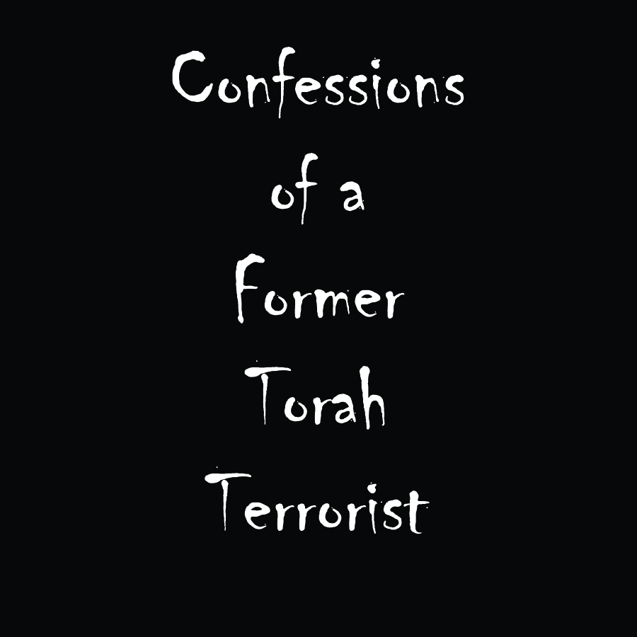 Confessions of a Former Torah Terrorist
