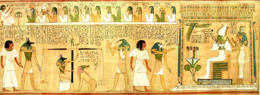 """The Hardening of Pharaoh's Heart and """"The Book of the Dead"""""""