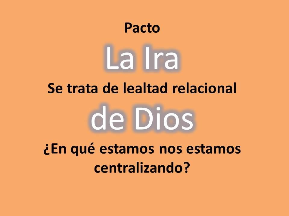 Ira vs Restauración - ¿Dónde Está el Enfoque de Dios?